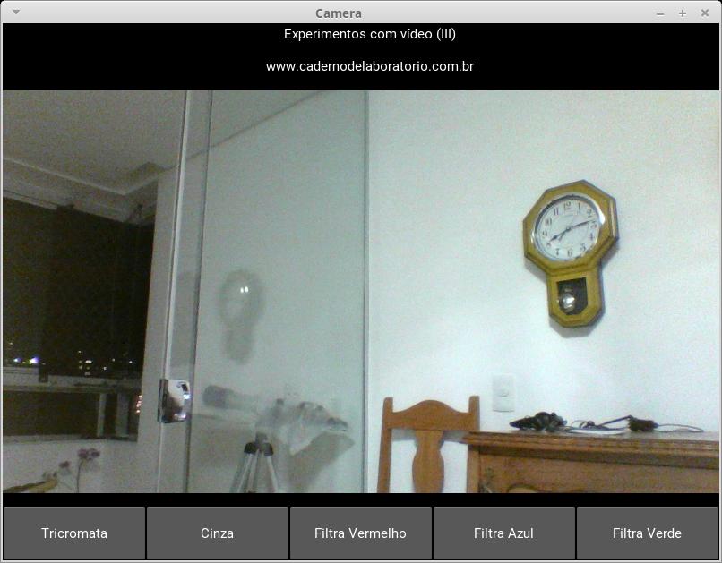 Implementando filtros RGB em Python /opencv - Caderno de