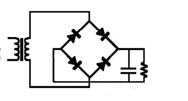 Circuito Retificador : Conhecendo os diodos retificador de onda completa